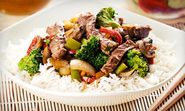Sannie Japan Chinese Cuisine - Rhawnhurst: Asian Food at Sannie Japan Chinese Cuisine (Up to 56% Off). Two Options Available.