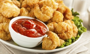 Just Shrimp Restaurant: $13.50 for One Pound of Jumbo Shrimp at Just Shrimp Restaurant