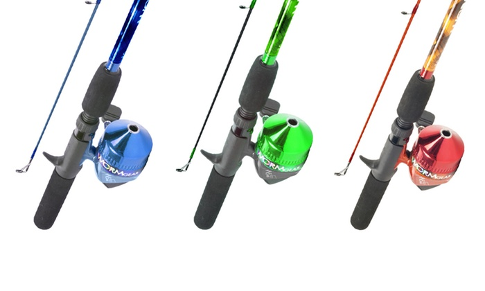 Fishing rod and spincast combo groupon goods for South bend fishing reel