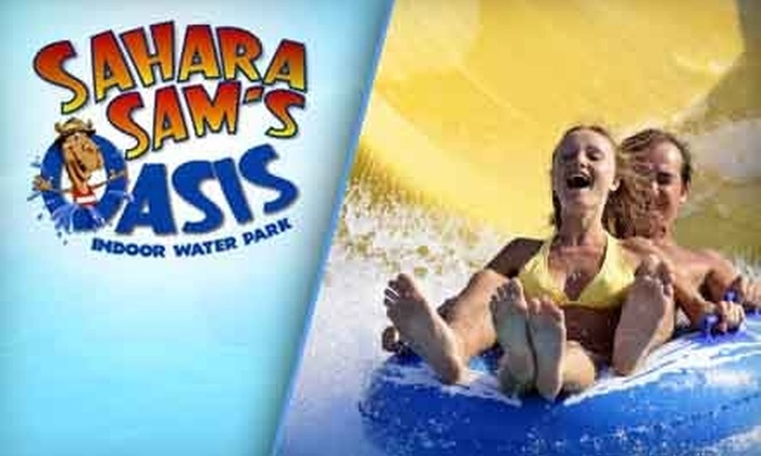 Sahara Sam's Oasis Indoor Water Park - Berlin: $15 for a One-Day Water Park Admission at Sahara Sam's Oasis Indoor Water Park