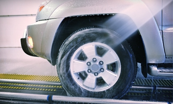 Carisma Wash - Multiple Locations: $24 for Four The Works! Car Washes at Carisma Wash ($40 Value)