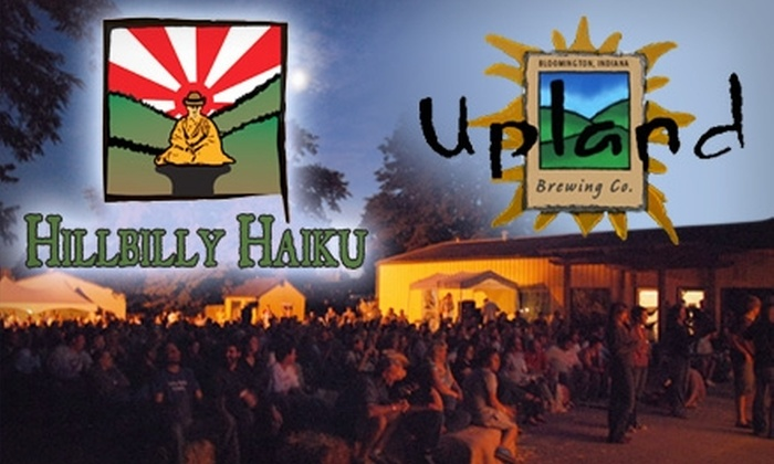 Upland Brewing Co. - Maple Heights: $15 Ticket to Upland Brewing Company's Hillbilly Haiku Americana Music Series Featuring Todd Snider Live plus Eight Tickets for Food and Drink ($28 Value)