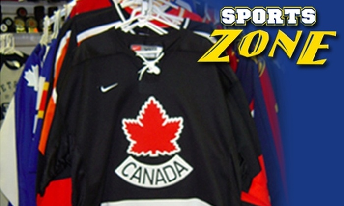 LaSalle Sports Zone  - Windsor: $20 for $40 Worth of Licensed Sports Apparel at LaSalle Sports Zone