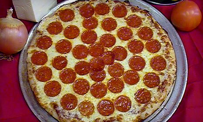 Pizza For U - Multiple Locations: $15 for $30 Worth of Pizza at Pizza For U. Six Locations Available.