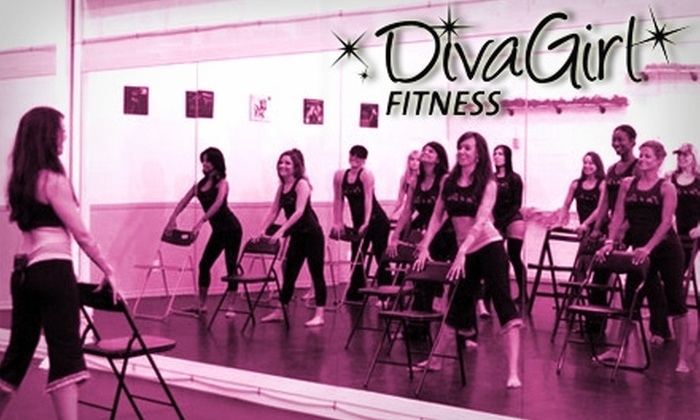 DivaGirl Fitness - Multiple Locations: $30 for Five Dance Classes from DivaGirl Fitness