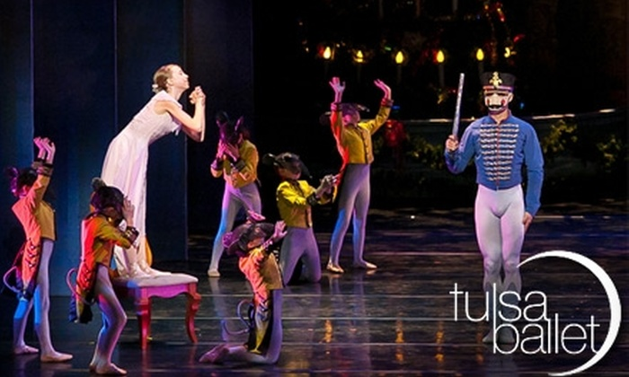 """Tulsa Ballet - Brookside: $13 for One Orchestra II Section Ticket to Tulsa Ballet's """"The Nutcracker"""" ($27 Value). Choose Between Two Dates."""