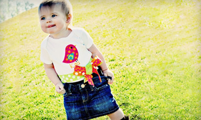 Polka Dot Baby Bowtique: $15 for $30 Worth of Boutique Baby Apparel and Accessories from Polka Dot Baby Bowtique