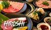 Yakiniki Hiroshi - Waikiki: $35 for $70 Worth of Japanese Barbecue at Yakiniku Hiroshi