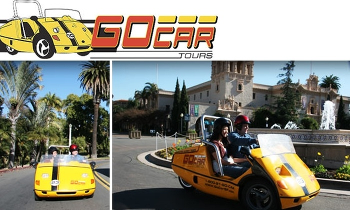 GoCar  - Harborview: $50 for a 2.5-Hour GoCar Tour of San Diego ($103 Value)