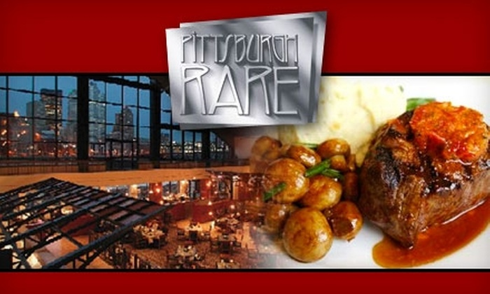 Pittsburgh Rare - South Shore: $25 for $55 Worth of Steaks and More at Pittsburgh Rare