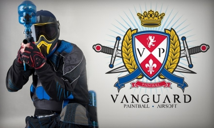 Vanguard Indoor Playground - Mesa: $30 for Full Day of Indoor Airsoft Plus Equipment Rental and 2,000 BBs at Vanguard Indoor Playground in Gilbert