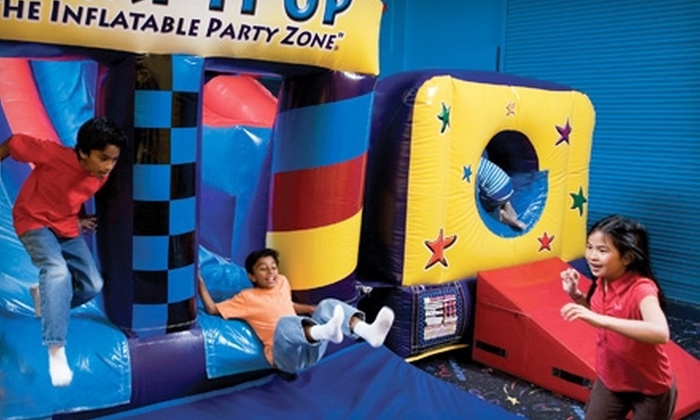 Pump It Up - Mauldin: $10 for Four Pop-In Playtimes at Pump It Up ($24 Value)