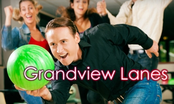 Grandview Lanes - Grandview-Woodland: $35 for a Bowling and Pizza Package for Four ($76 Value)