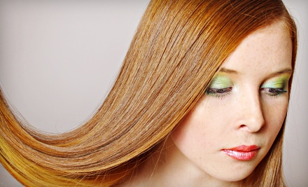 Good for One Keratin Smoothing Treatment (a $250 value) - Hot Heads Hair Salon in Cordova