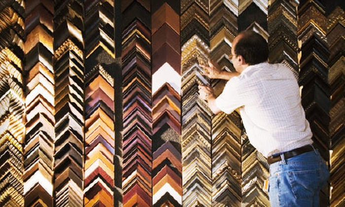 A Frame of Art - San Marcos: $30 for $100 Worth of Custom Framing at A Frame of Art in Vista