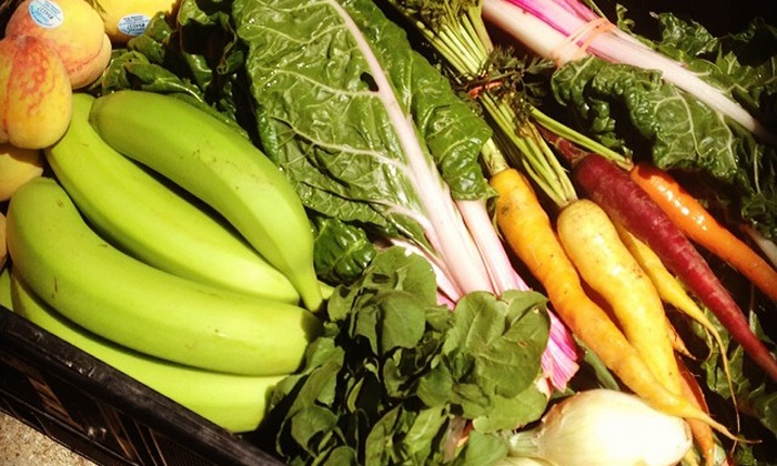 Urban Acres - Multiple Locations: One-Year Co-Op Membership, Initial Bin, and Small or Medium Share of Produce from Urban Acres (Up to 43% Off)