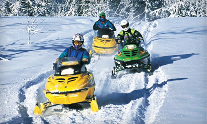 Alaska Half Price - Ninilchik: $125 for a Snowmobile Tour of Caribou Hills from Alaska Half Price in Ninilchik ($249 Value)