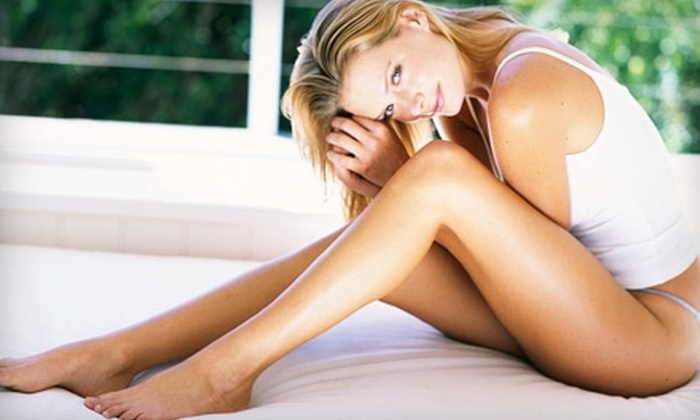 The Laser Cafe - Linda Vista,Clairemont,Clairemont Mesa East: $150 for Three Laser Hair-Removal Treatments on Two Areas at The Laser Café (Up to $900 Value)