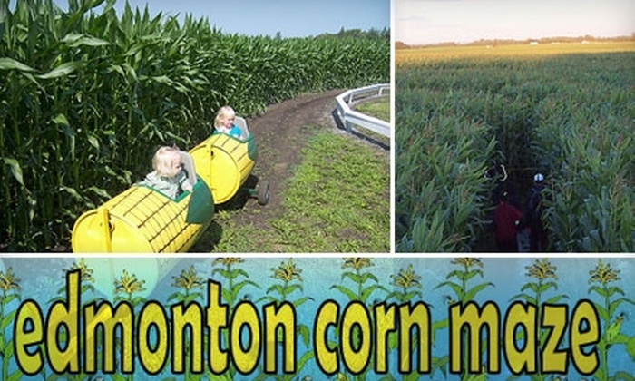 Edmonton Corn Maze - Spruce Grove: $8 for Two Tickets to Edmonton Corn Maze (Up to $16 Value)