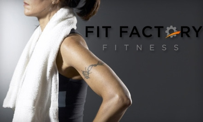 Fit Factory Fitness - Multiple Locations: $50 for a 30-Day Fitness Boot Camp from Fit Factory Fitness ($250 Value)