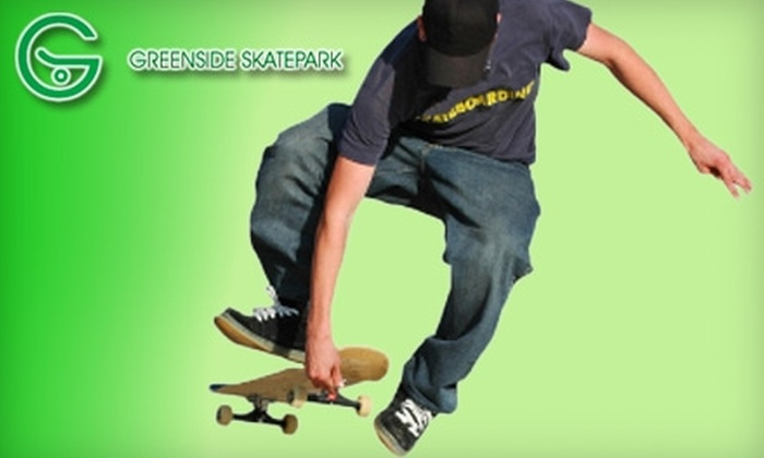 Greenside Skatepark - Middletown: $10 for an All-Day Weekend Pass Plus Pad Rental at the Greenside Skate Park