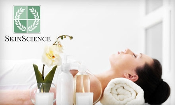 SkinScience Institute of Laser & Esthetics - Multiple Locations: $25 for a Facial and Spa Pedicure ($55 Value) or $42 for a Facial and Body Wrap ($85 Value) at SkinScience Institute