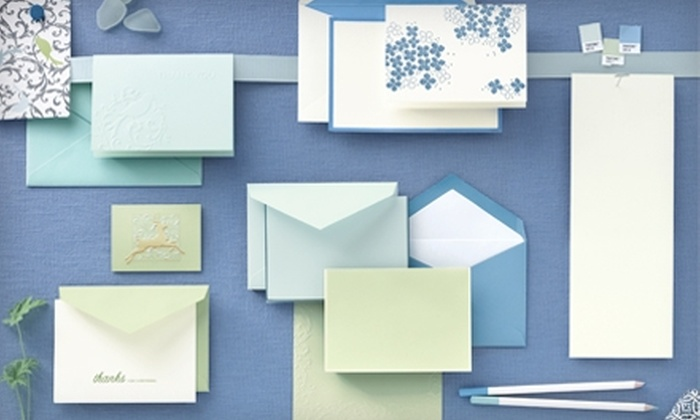 Crane & Co. - Multiple Locations: $25 for $50 Worth of Boxed and Custom-printed Stationary, Invitations and More from Crane & Co.