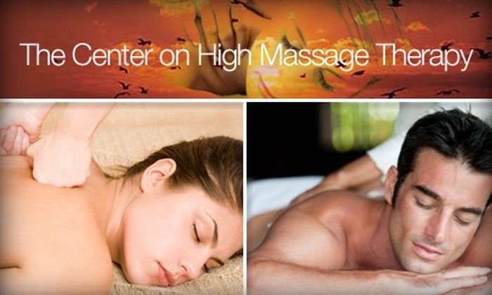 The Center on High - Clintonville: $25 for a 55-Minute Massage at The Center on High