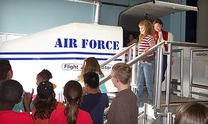 Museum of Aviation - Warner Robins: $10 for Themed Rides on The Transporter for up to Four at the Museum of Aviation in Warner Robins (Up to $20 Value)