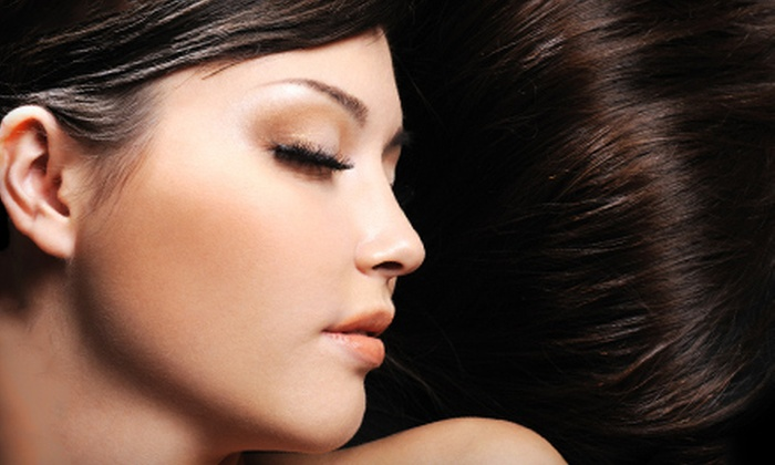 Jagged Edge Salon & Day Spa - Summerlin: One or Two Brazilian Hair-Straightening Treatments at Jagged Edge Salon & Day Spa (Up to 80% Off)
