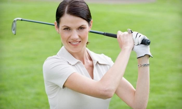 Golf Shack - Rockford: $12 for Three Large Buckets of Range Balls at Golf Shack ($24 Value)