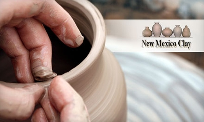 New Mexico Clay - Coles Industrial: $17 for an Introductory Pottery Class at New Mexico Clay