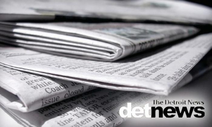 """Detroit News"" : $36 for Six-Month Subscription to ""Detroit News"""