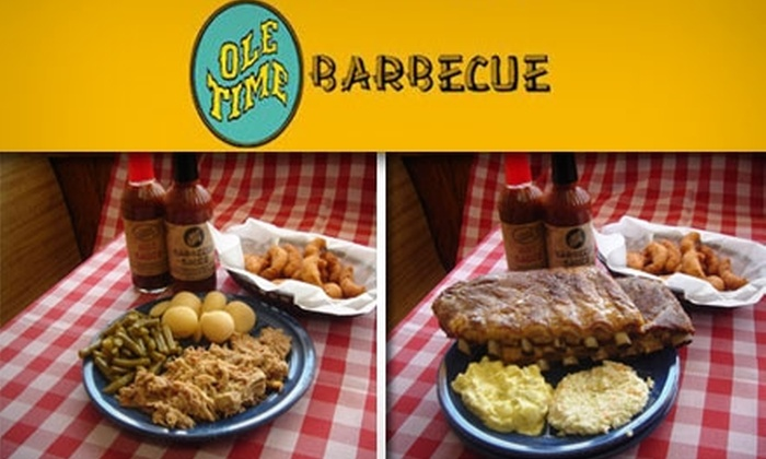 Ole Time Barbeque - Multiple Locations: $10 for $20 Worth of Smokehouse Fare at Ole Time Barbecue