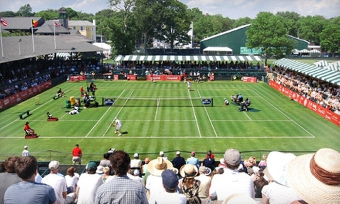Campbell's Hall of Fame Tennis Championships - Newport: Two Tickets to the Opening Rounds of Campbell's Hall of Fame Tennis Championships in Newport. Three Dates Available.