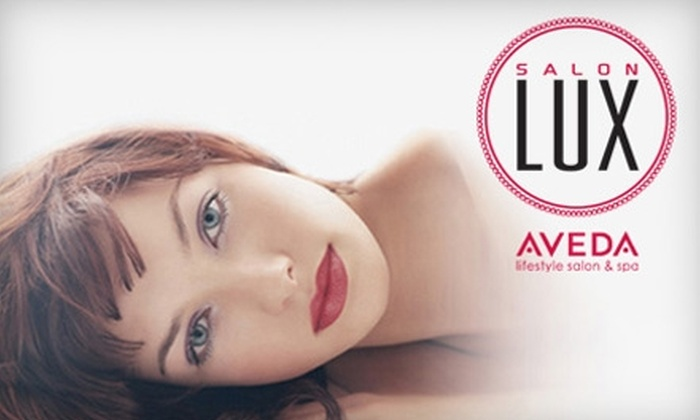 Salon Lux - Multiple Locations: $89 for a Spa Package at Salon Lux