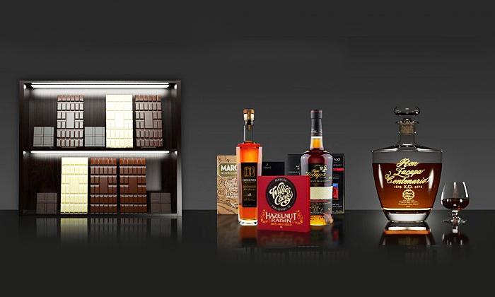 JTJ Connaisseur UG - Düsseldorf: 3-4 Stunden Schokoladen- und Rum-Tasting für 1 oder 2 Personen bei Schoko und Rum ab 49,90 € (bis zu 62% sparen*)