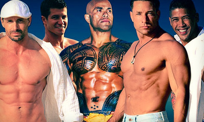 """Men of Paradise - Downtown Honolulu: """"Men of Paradise"""" at Aloha Tower Pier 5 (Up to Half Off)"""