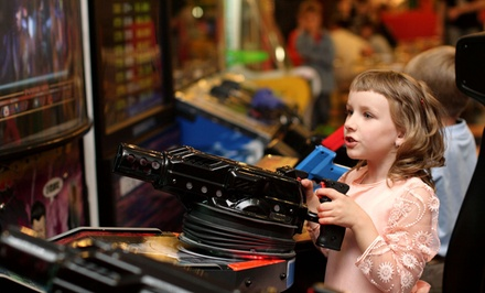 5 or 10 Unlimited-Play Visits at Klassic Arcade (Up to 68% Off)