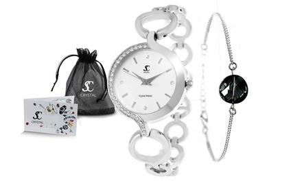 Orologio o bracciale SC Crystal con cristalli di Swarovski®
