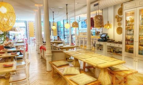 Menú de arroz con bogavante para 2 o 4 personas con entrante, principal, postre y bebida desde 29,99 € en Paella N 1
