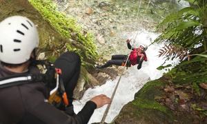 Recovery Energy: Giornata avventura: Trekking, discesa della cascata del Fosso della Mola e merenda rustica (sconto fino a 74%)