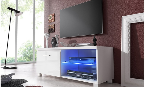 meuble tv lina ou nova groupon shopping. Black Bedroom Furniture Sets. Home Design Ideas