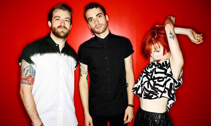 Paramore - The Self-Titled Tour - Cynthia Woods Mitchell Pavilion: Paramore–The Self-Titled Tour on October 27 with 4-Song Download from #1 Album (Up to $57.81 Value)