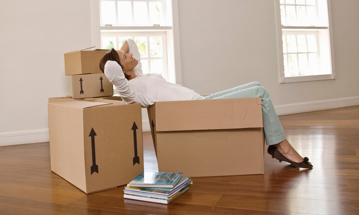 Thomas Bros Moving - Hampton Roads: 120 Minutes of Moving Services with Two Movers and a Moving Truck from Thomas Bros Moving (45% Off)
