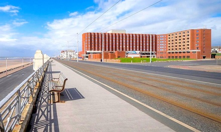 Blackpool: 1 or 2 Nights with Breakfast, Leisure Access, Wine and Option for Dinner at Grand Hotel Blackpool