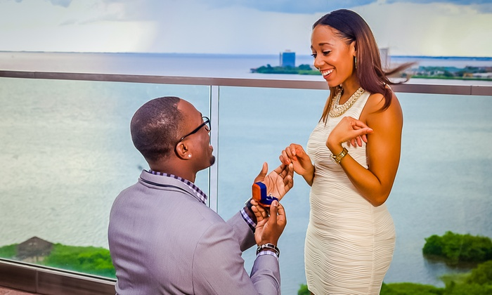 TTlStudios.Photography - Tampa Bay Area: 60-Minute Engagement Photo Shoot from Ttlstudios.photography (80% Off)