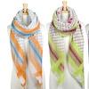 Women's Multi-Color Diamond Print Scarf