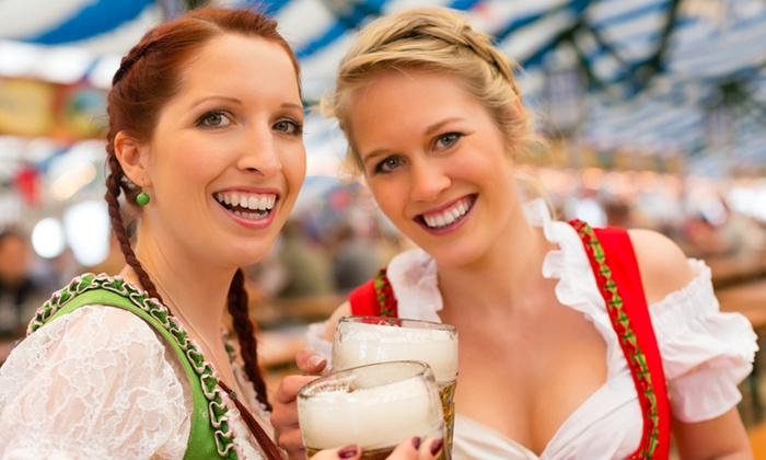 Halloween Oktoberfest Brought to You by the California Beer Festival - Town Center: $30 for Entry for 2 to Halloween Oktoberfest Brought to You by the California Beer Festival on Sunday, October 19 ($56 Value)