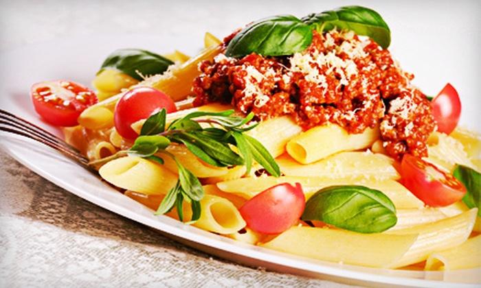 Luggatti's Italian Grill - Downtown Huntington Beach: $20 for $40 Worth of Italian Fare, Pizza, and Drinks at Luggatti's Italian Grill in Huntington Beach